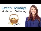 Learn Czech Holidays - Mushroom Gathering