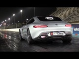760HP Mercedes-AMG GTS PP-Performance - Flames &amp 14 Mile Drag Racing!