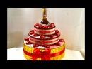 Праздничный торт с конфетами своими руками/Подарок шефу/DIY Cake Of Sweets