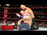 John Cena &amp Roman Reigns vs. Luke Gallows &amp Karl Anderson Raw, Aug. 28, 2017