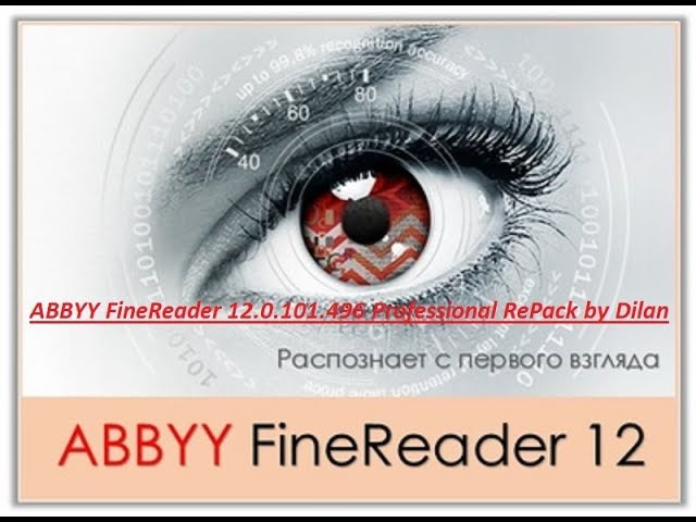 ABBYY FineReader 12.0.101.496 Professional RePack by Dilan