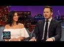 Chris Pratt & James Man Up for Aaron Rodgers & Olivia Munn