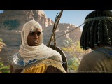 Assassins Creed Origins: Xbox One X Combat & Quest Exploration Gameplay in 4K - E3 2017