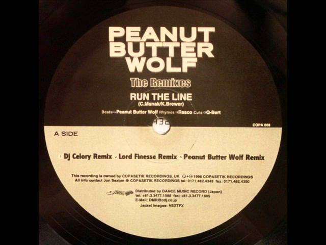 Peanut Butter Wolf Rasco - Run The Line (Lord Finesse Remix) (1998)