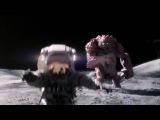 Луннный монстр!  Самая крутая реклама! Короткометражка фантастика HD