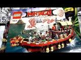 LEGO Ninjago Movie 70618 Летающий корабль Мастера Ву распаковка набора Лего Ниндзяго Фильм