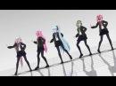【MMD】Black Out【ルカミクグミIAテト】