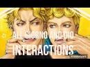 All Giorno And Dio Interactions Jojos Bizarre adventure Eyes of Heaven