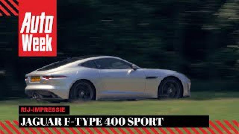 Jaguar F-Type 400 Sport - AutoWeek Review - English subtitles