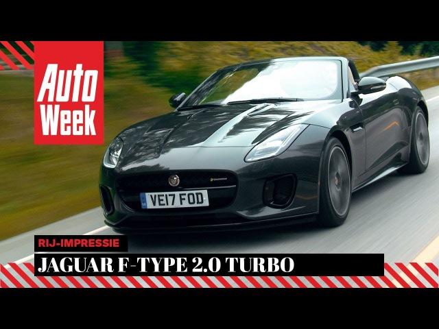 Jaguar F-Type 2.0 Turbo - AutoWeek Review - English subtitles