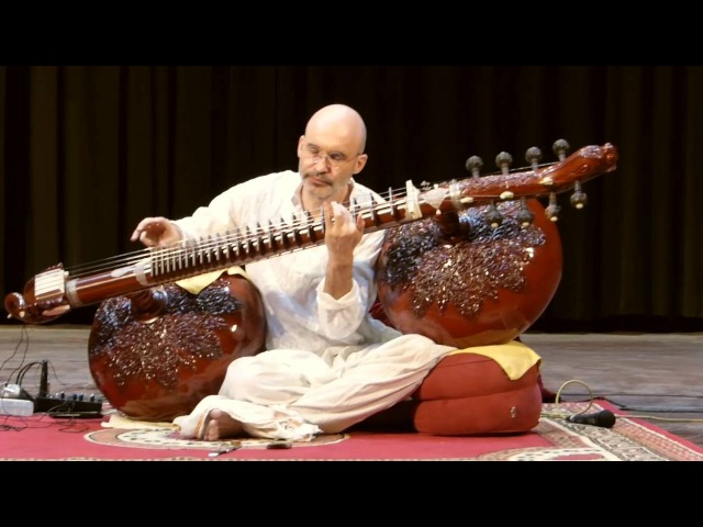 Carsten Wicke - Raga Marva - Rudra Veena - Rudra Vina - Dhrupad, Jabalpur 16th April 2016