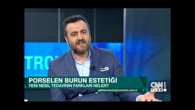 Porselen Burun Estetiği Ameliyatı Nedir Op. Dr. Baran KUL - CNN TÜRK