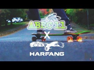 Harfang x Abec 11 Wheels: Brandon Desjarlais On Fire!