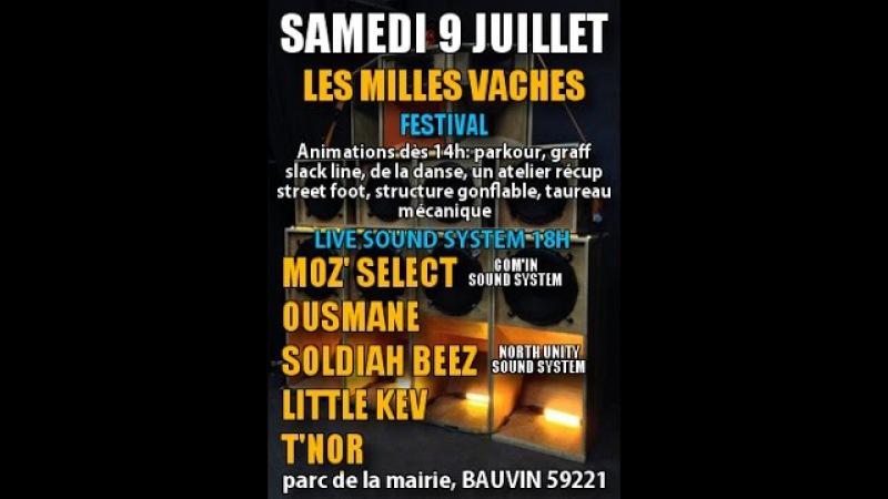 MILLES VACHES Festival(Bauvin 59/ 9 juillet 2016)