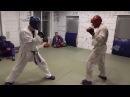 Тренировка по армейскому рукопашному бою, спарринги.no use