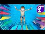 🌟 Водная Игра в Бассейне с Детскими Водными Насосами Максим Прыскает Папу Max Fun Pool Family Games