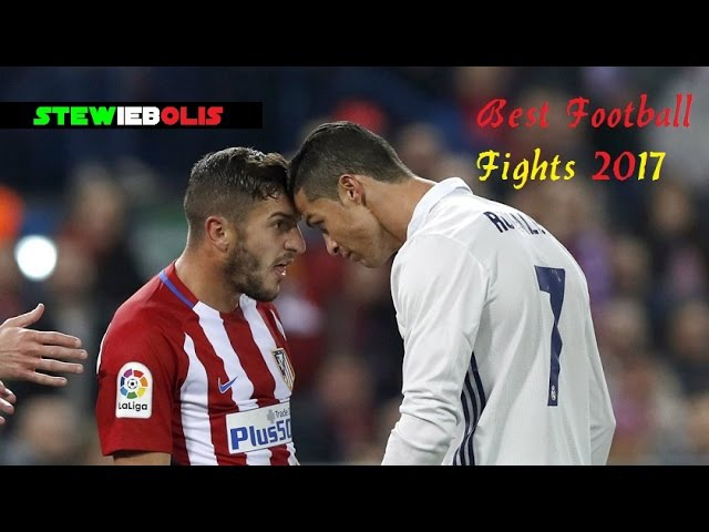 Best Football Fights of 2017 ● ft Cristiano Ronaldo,Messi,Neymar,Ibrahimovic,Bale,Pogba.. ● HD
