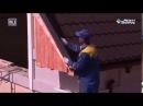 Видео инструкция по монтажу ветровой планки торцевой на металлочерепицу и про ...