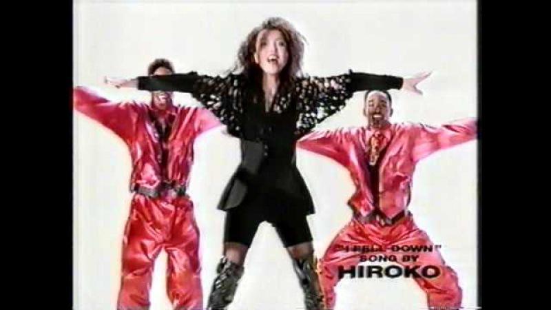 HIROKO CM  CASIO   ワープロ   1991