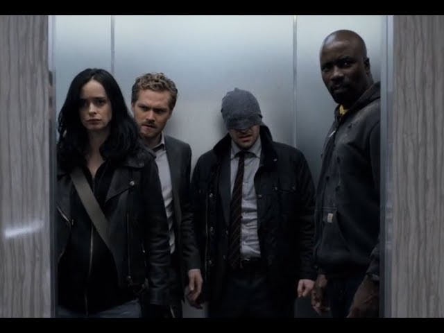 Marvel's The Defenders Epic Hallway Fight Scene