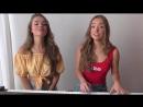 Красивые близняшки спели песню SHAKIRA Perro Fiel COVER ft Nicky Jam