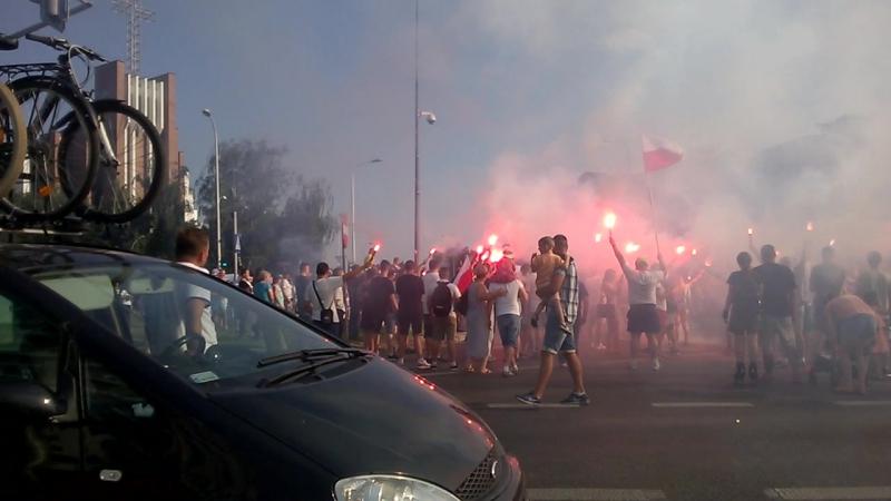 Rocznica Powstania Warszawskiego 2017r. 17.00 Warszawa, ul. Kondratowicza