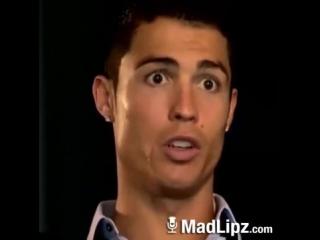 Cristiano Ronaldo об игре Месси на лезгинском языке