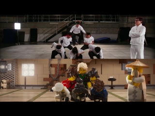 Джеки Чан рассказал, как они создавали трюки для Лего: Ниндзяго