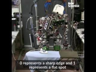 Робот с утюгом