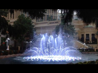 фонтан винни,мини-версия Балладжио
