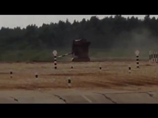 Один танк утопили, второй перевернули