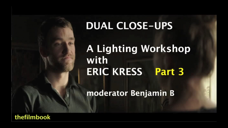 Lighting Workshop with Eric Kress Part 3