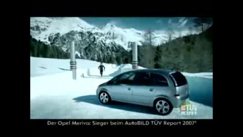 Comercial Opel Meriva X Zafira - Ice Channel Fight