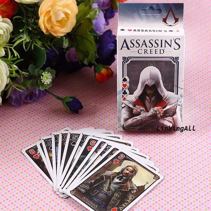 Игральные карты 54 шт Assassins Creed