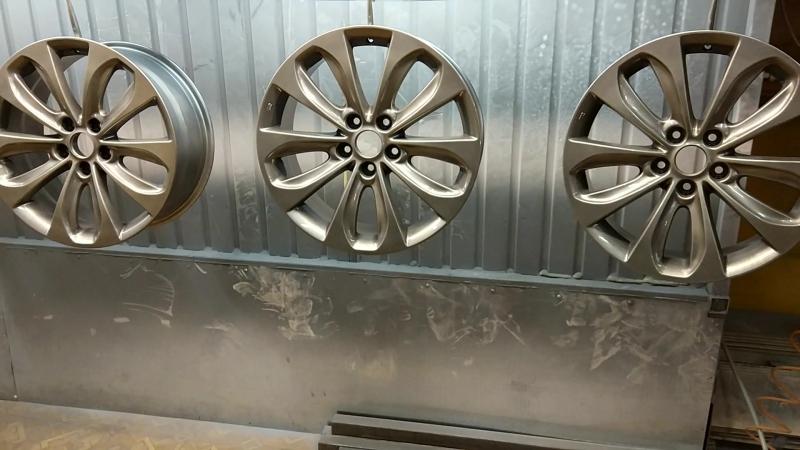 Шиномонтаж штурман. Профессиональная порошковая покраска литых, кованных, мото дисков