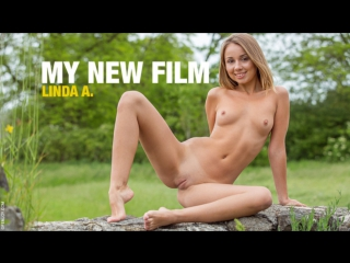 Linda A. - My New Film  from FemJoy /2017-07-09/ Erotic, Solo /