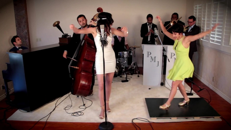 Scott bradlee's postmodern jukebox ft. ariana savalas sarah reich - bad romance (2015)
