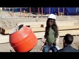 Съёмки музыкального видео на песню Work from Home (2016 год)