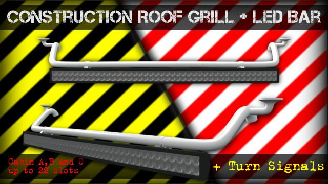 CONSTRUCTION ROOF GRILL + LED BAR 02.07.17
