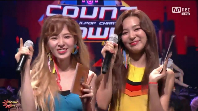 170720 Seulgi Wendy - Special MC pt.4 @ Mnet M!Countdown