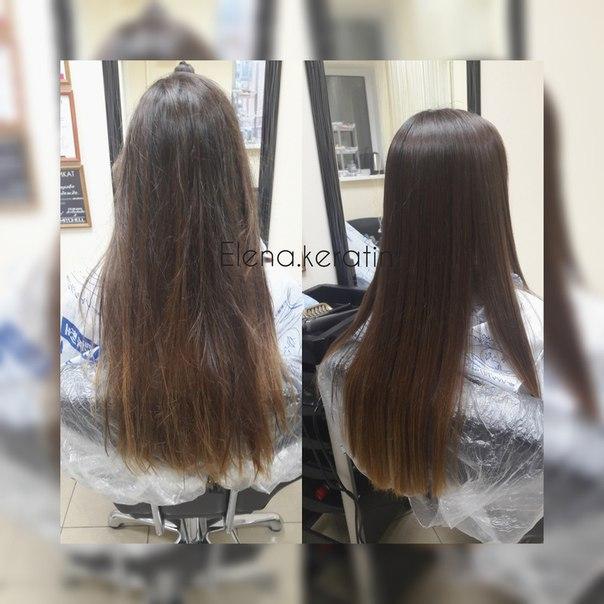 Кератиновое выпрямление волос пенза