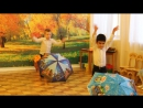 "Танец с зонтиками (мальчики) - группа №2 ""Богатыри"" (педагог - Морозова Марина Ивановна"