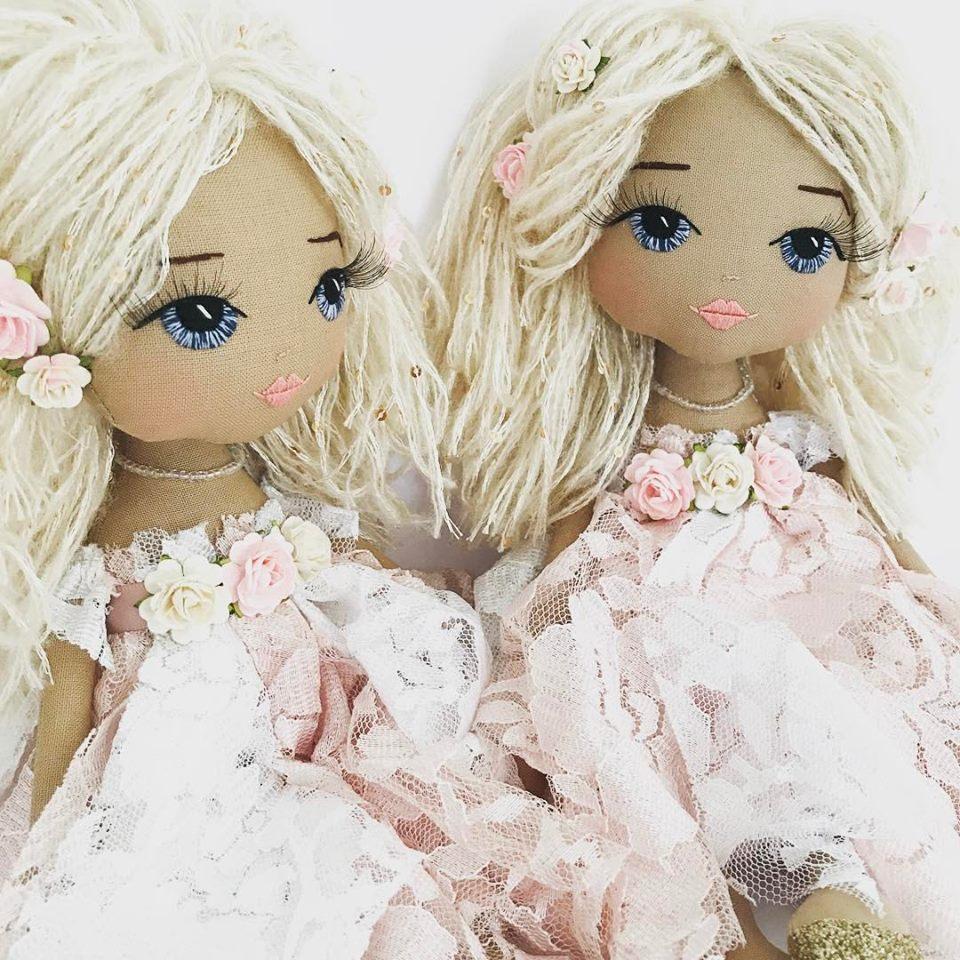 куклы с вышитыми глазками