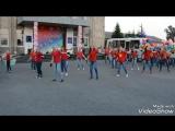 Флешмоб танцколлективов:1-