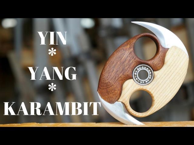Yin yang spinner 2 0 mini karambits interlocking