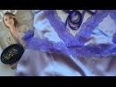 ✂️Sewing Silk lingerie Part 1 Шёлковая сорочка KrisCityofLux