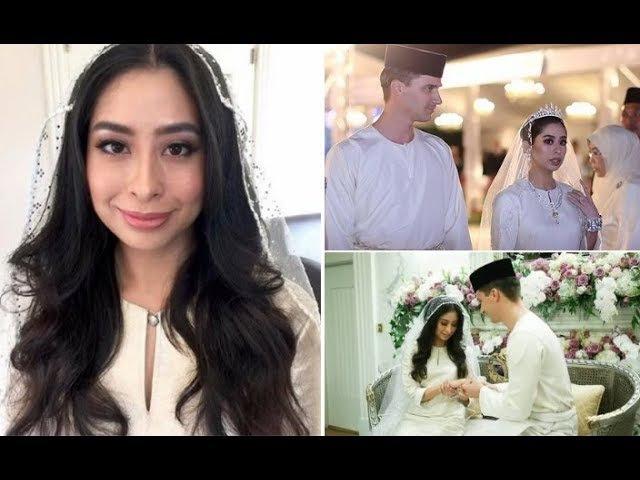 JOHOR ROYAL WEDDING Tunku Aminah marries Dutch-born Dennis Muhammad