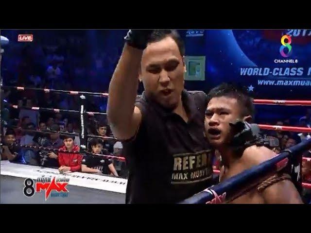 KHALILOV TAGIR(RUSSIA) vs PETCHSEENIL AOR JEERAWAN(THAILAND) Max Muay Thai 23 July 2017
