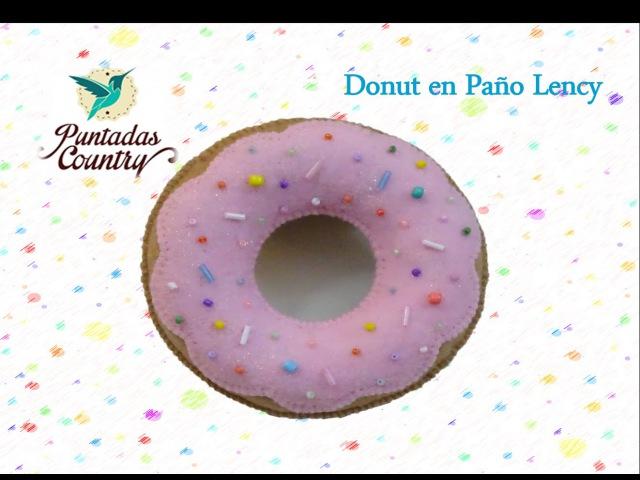 Manualidades Fáciles - Donut en fieltro