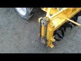 Почвофреза самодельная для КМЗ-012